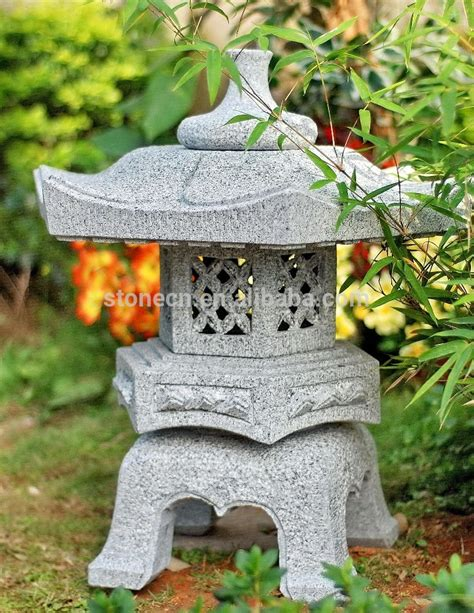 Garden Accessories From China Garden Decor Granite Japanese Lantern Buy