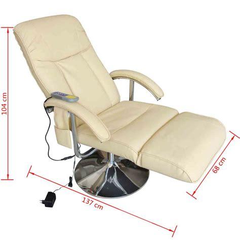 sillon electrico reclinable sill 243 n de masaje el 233 ctrico reclinable de color blanco