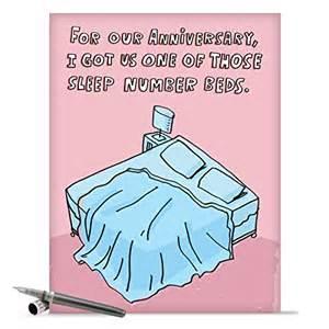 Sleep Number Bed Satisfaction Guarantee J9678 Jumbo Anniversary Card Sleep Number Bed With