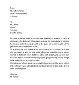 Personal Introduction Letter For Business Personal Letter Format 9 Sles Exles Format