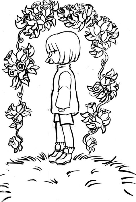 coloring pages undertale undertale lineart tumblr monochrome pinterest