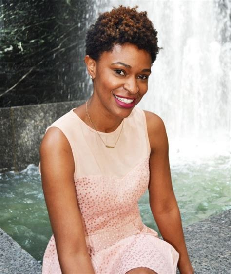 michelle 8 months after the big chop blended beauty essence com beauty editor deena cbell shares why second