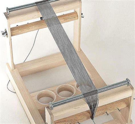 how to set up a bead loom warp a bead loom no wind method