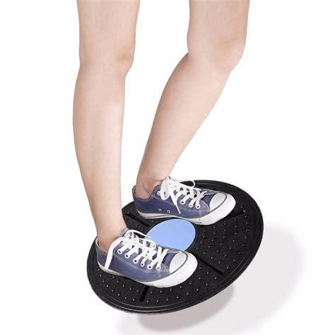 Alat Fitness alat fitness balance board keseimbangan black blue