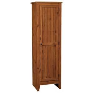 white beadboard texture free standing corner pantry