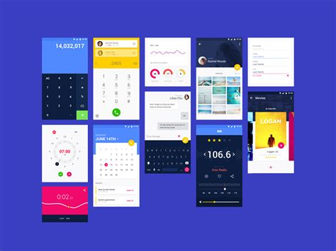Free Material Ui Kit For Adobe Xd Freebie Supply Adobe Xd App Templates