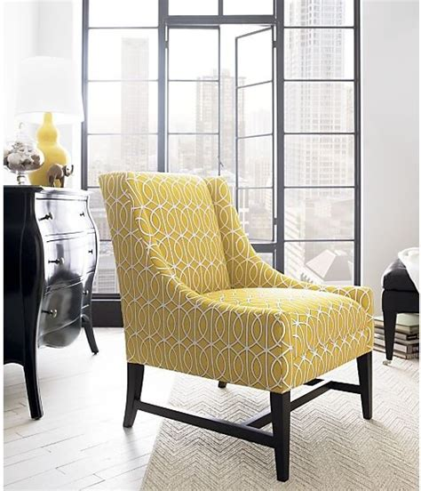 yellow living room chair yellow chair