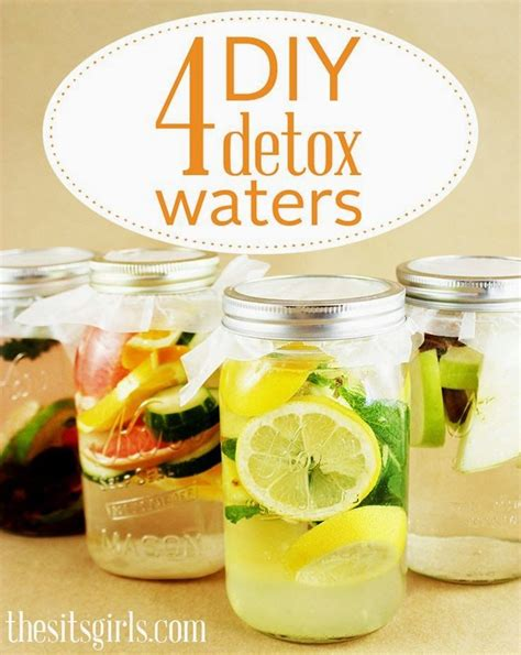 Diy Detox Drinks For Test by 4 Diy Detox Waters Detox Waters Water Recipes And To