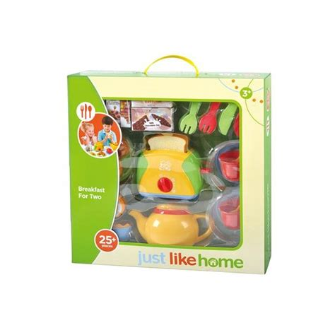 just like home breakfast for two set toys quot r quot us