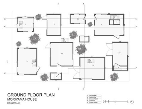 78 Best Images About Moriyama On Pinterest Ground Floor Moriyama House Plan