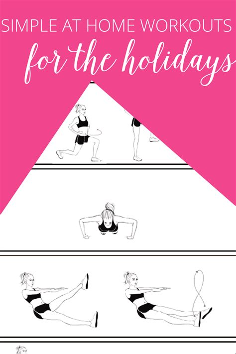 simple at home workouts for the festive period