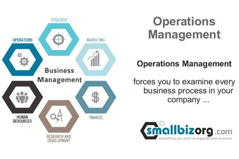 Mba Operations Management Opportunities by Business Management Framework