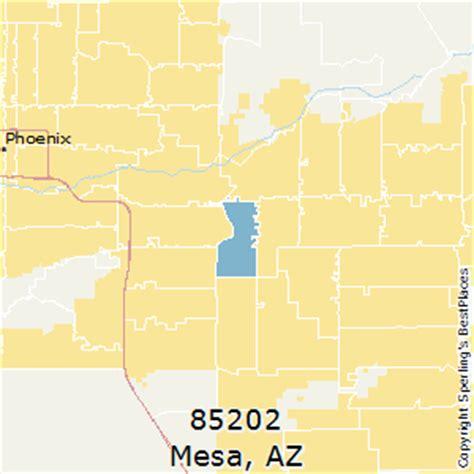 zip code map mesa az best places to live in mesa zip 85202 arizona