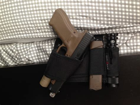 bed holster review be tactical s bedside holster the firearm