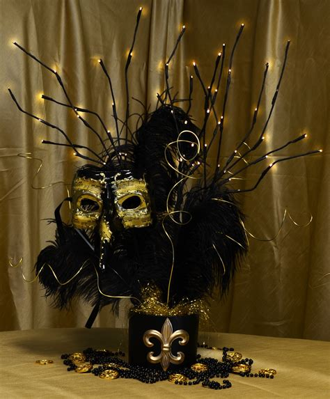 party ideas by mardi gras outlet black gold masquerade