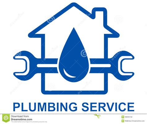 Plumbing Signs by Plumbing Sign Stock Photography Image 36845132
