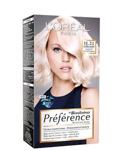 loreal preference colors loreal preference blondissimes ultralight bubblebox
