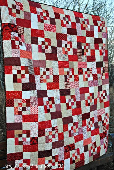 2 Color Quilt by Sew We Quilt Two Color Quilt