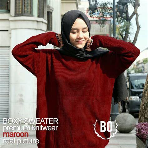 Baju Atasan Sweater Roundhand Sweater Rajut Murah Baju Muslim baju rajut murah meriah roundhand x grosir baju muslim