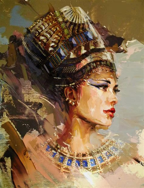 Egyptian Duvet Egyptian Culture 11 Painting By Maryam Mughal