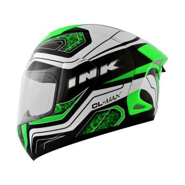 Ink Cl Max jual ink cl max 05 helm black white green