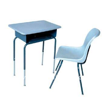 White Student Desk Chair School Desk Wooden Antique School White Student Desk Chair