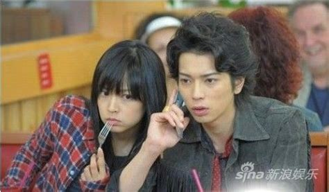 jun matsumoto movies and tv shows mao inoue and jun matsumoto the stars of the hana yori