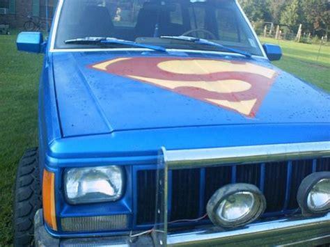 superman jeep superman thang 1988 jeep specs photos