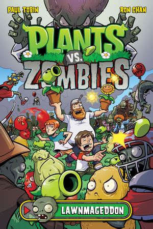 plants vs zombies volume 6 boom boom plants vs zombies