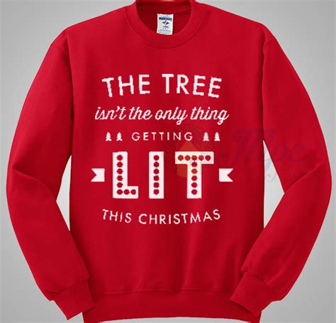 light up ugly christmas sweater the tree isnt the only thing getting lit the tree isn t the only thing getting lit sweater mpcteehouse