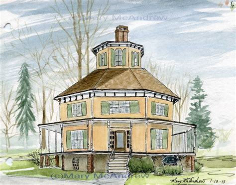 octagonal houses and their opposite architecture buildings 171 mary mcandrew