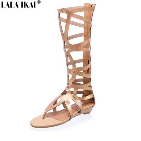 buy gladiator sandals popular knee high gladiator sandals buy cheap knee high