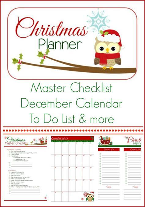 free printable holiday planner 2014 my owl barn printable christmas planner