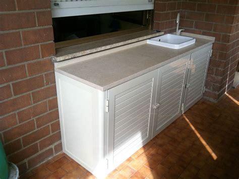 lavelli esterni armadi bassi in alluminio con lavandino per esterni alfa