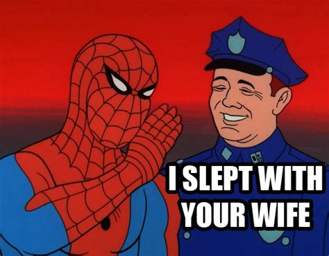 Spiderman Meme Face - image 429840 60s spider man know your meme