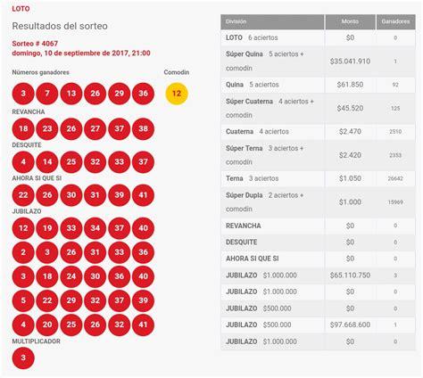 resultados loto hoy resultados del loto domingo 11 de resultados del loto domingo 10 de septiembre de 2017