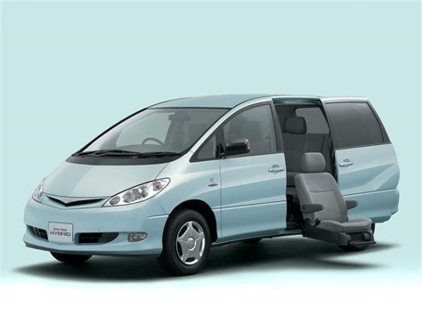 toyota estima toyota estima technical specifications and fuel economy
