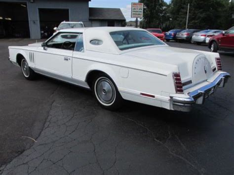 mark jackson used cars purchase used 1977 lincoln continental mark v cartier in