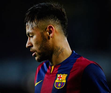 neymar neck tattoo 23 neymar jr cool neck tattoos
