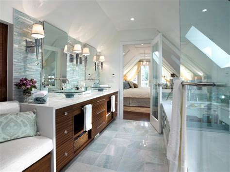 candice olson bathroom designs serene attic bathroom retreat candice began this attic