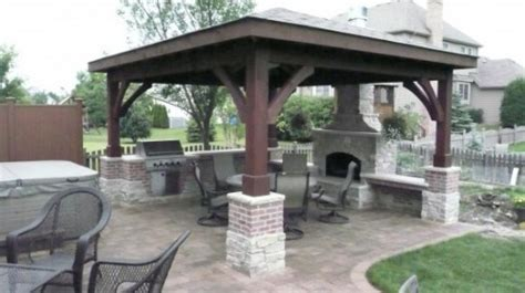 Outdoor Patio Grill Gazebo Tips Home Building Furniture And Interior Design Ideas