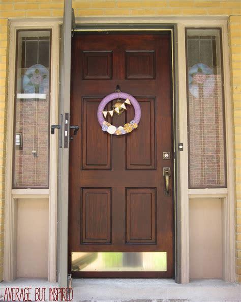 staining a front door how to refinish an exterior door the easy way