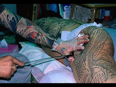 tattoo yakuza youtube tatuaje japon 233 s yakuza horimono irezumi youtube