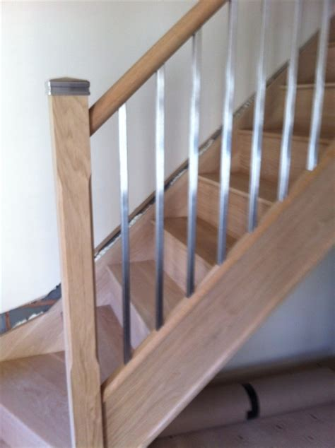 New Stair Banister Metal Balustrade Staircase Gallery Topflite Stairs Ltd