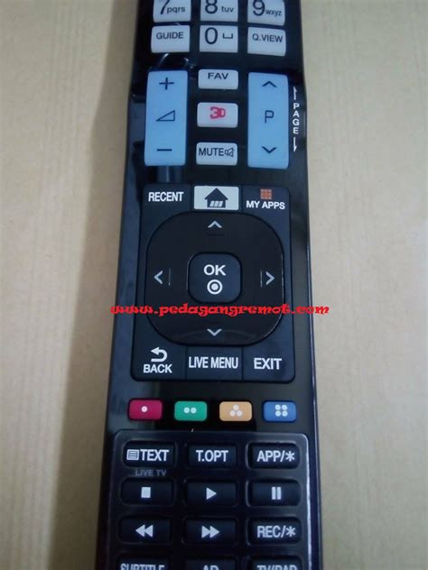 Remote Tv Lcd Led 3dimensi Lg Tv Cocok All Lg 3d jual remote remote tv lg lcd led 3d 3dimensi ori original akb74455403 pedagang remot