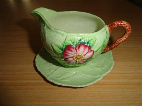 carlton ware australian design milk jug vintage 1930s carlton ware carltonware wild rose green