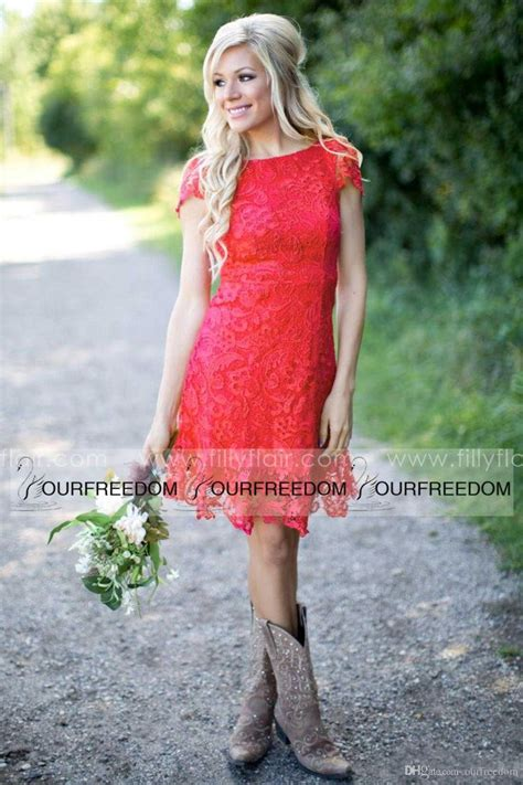 cheap country style dresses best 25 western bridesmaid dresses ideas on