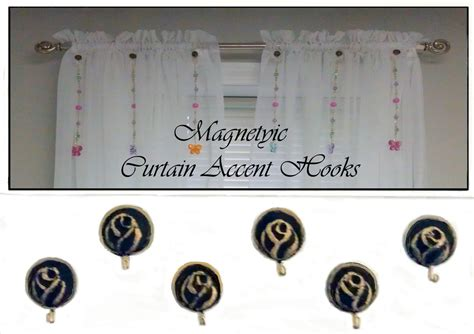 magnetic curtain weights magnetic curtain accent hooks set of 6