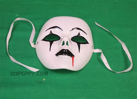 How To Make Scary Masks Out Of Paper - crafts project ideas 123peppy