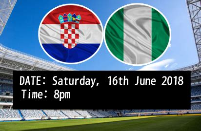 nigeria vs croatia referees for nigeria vs croatia match the paradigm